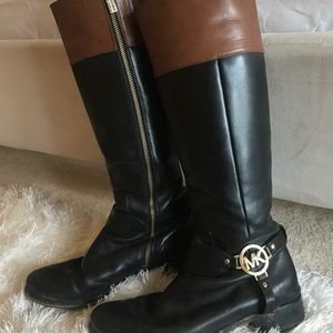 Michael Kohrs Tall leather boots